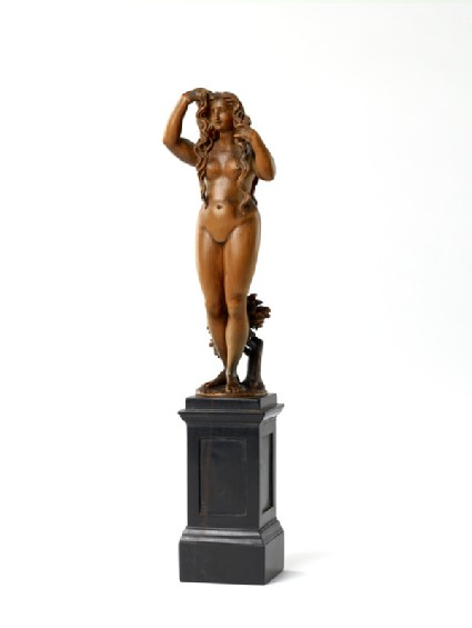 Figure of a naked young woman