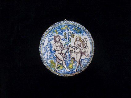 Bowl, Adam and Eve