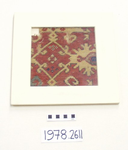 Fragment of a 'Lotto' carpet