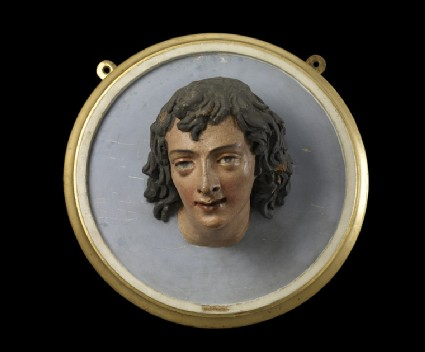 Head of young man, fragment from an Adoration of the Magi