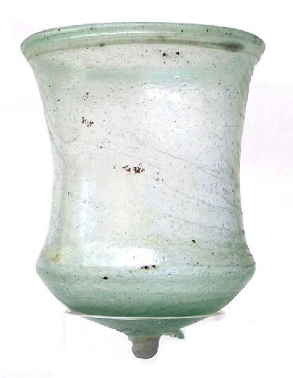 Bell-shaped beaker