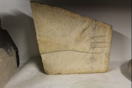 Metrological relief fragment