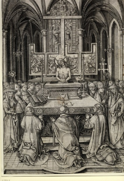 The Mass of St Gregory