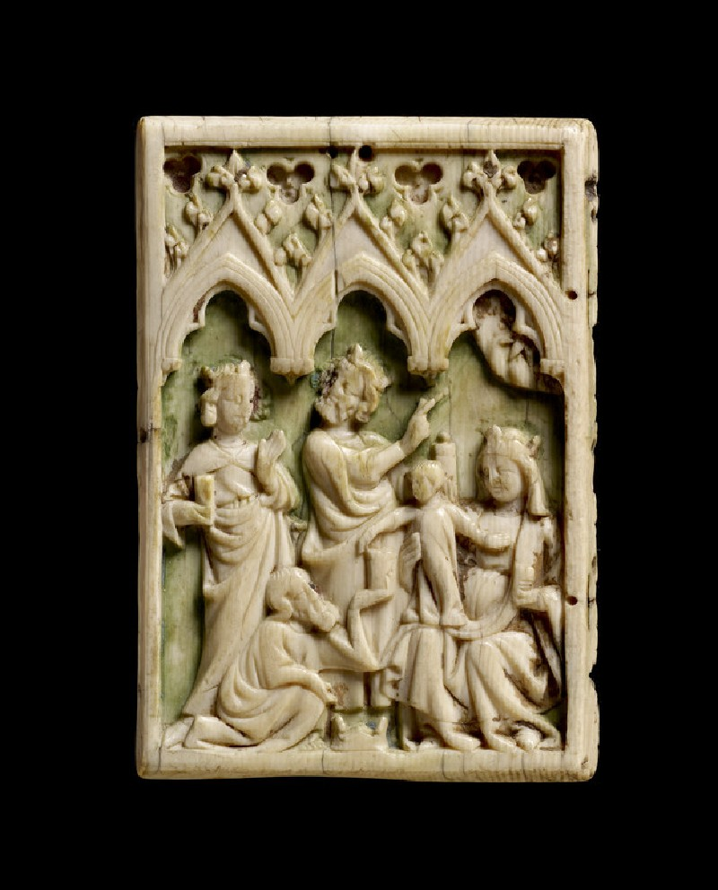 Diptych leaf with the Adoration of the Magi (AN1685.A.581, AN1685 A.581)