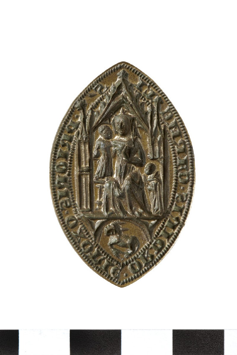 Seal of the Prior of the Order of the Carmelites, Oxford (AN2009.69)