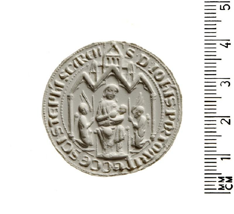 Seal of the Cistercian Convent of Inishlounagt (AN2009.847, AN.2009.847)