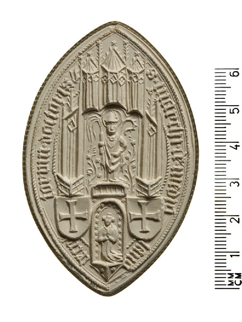 Seal of Marco, Doctor of Decrees, Milan (AN2009.94)