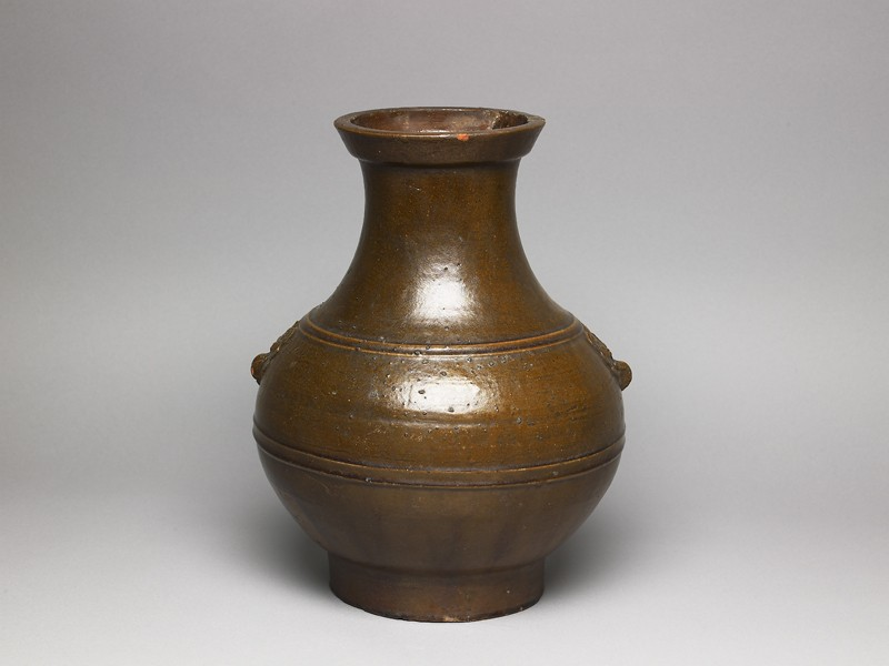 Ritual wine vessel, or hu (EA1956.909, oblique            )