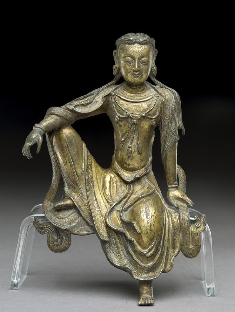 Seated figure of a bodhisattva (EA1956.1376)