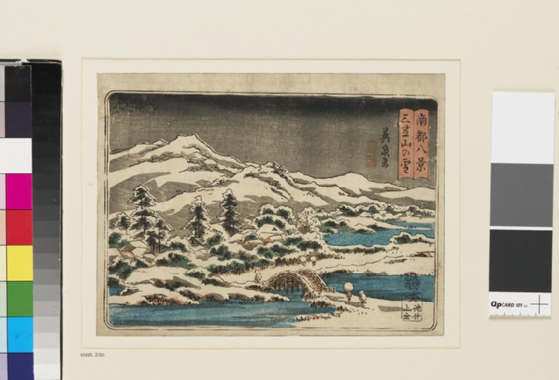 Mikasayama in the Snow (EA1958.239, front            )