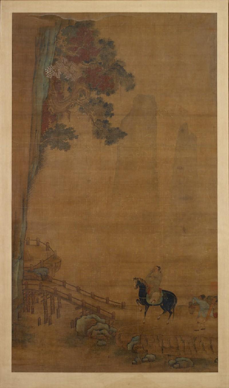 Rider at a bridge (EA1961.144, front            )