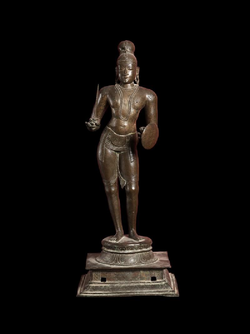 Figure of the saint Tirumankai Alvar