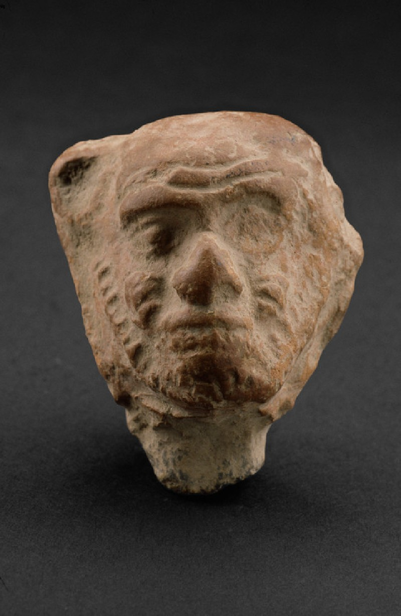 Head of a male figure with beard, possibly a grotesque (EA1967.93)