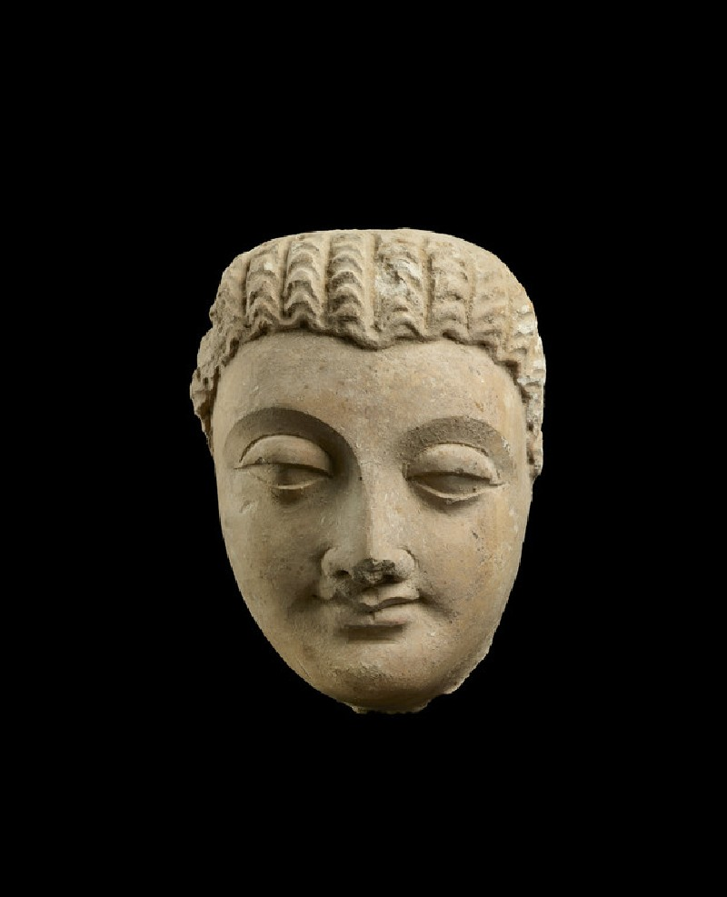 Sculpture of a Head of Buddha (EA1968.93)