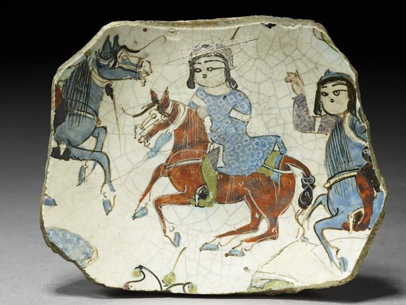 Fragment of a bowl with riders (EA1978.2426, top             )