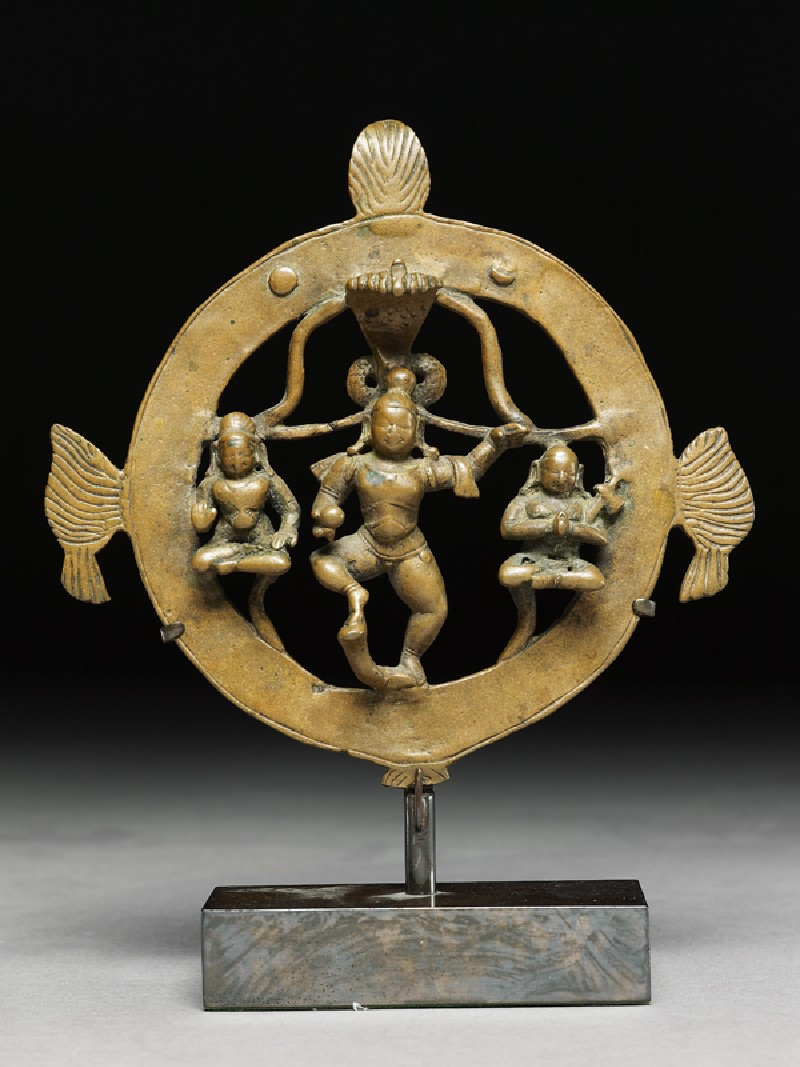 Figure of Krishna Kaliyadamana, tamer of Kaliya (EA1983.237, front            )