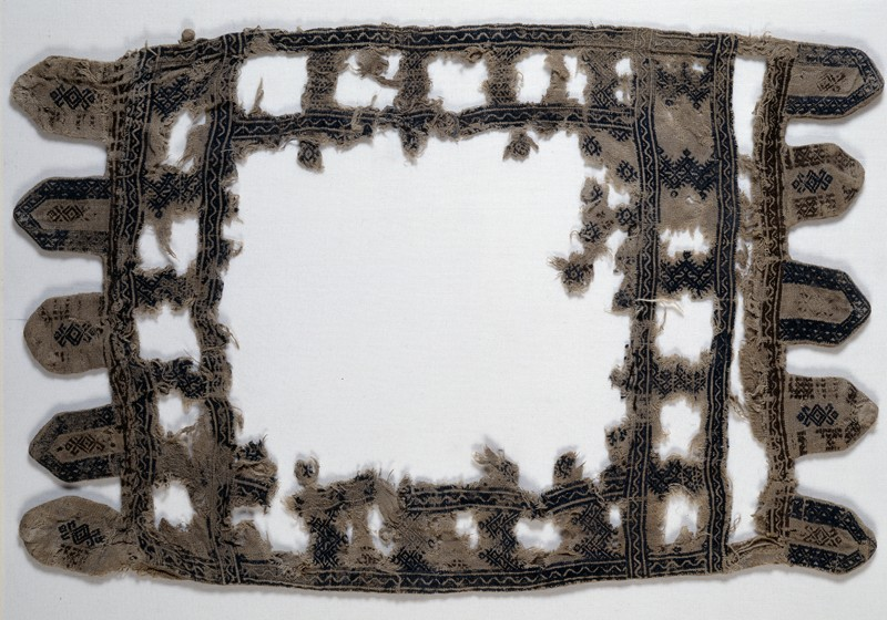 Remains of a pillow or cushion cover (EA1984.172, front            )