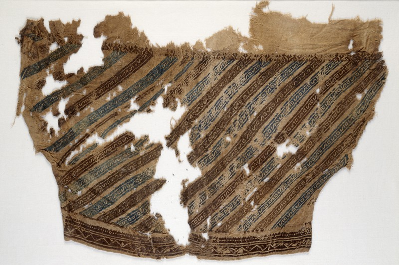 Textile fragment from a trouser leg (EA1984.350, front            )