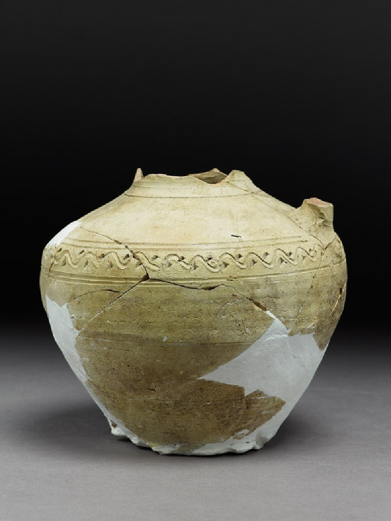 Fragmentary jar with incised decoration (EA1984.639, side            )