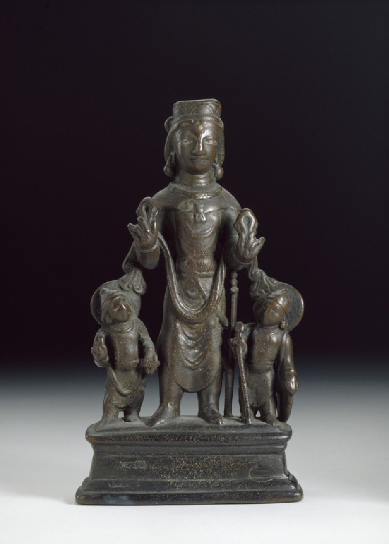 Figure of Surya, the Sun god (EA1986.2, front          )