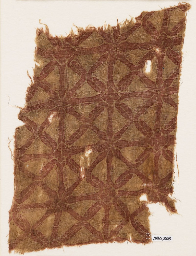 Textile fragment with interlace (EA1990.303, front            )