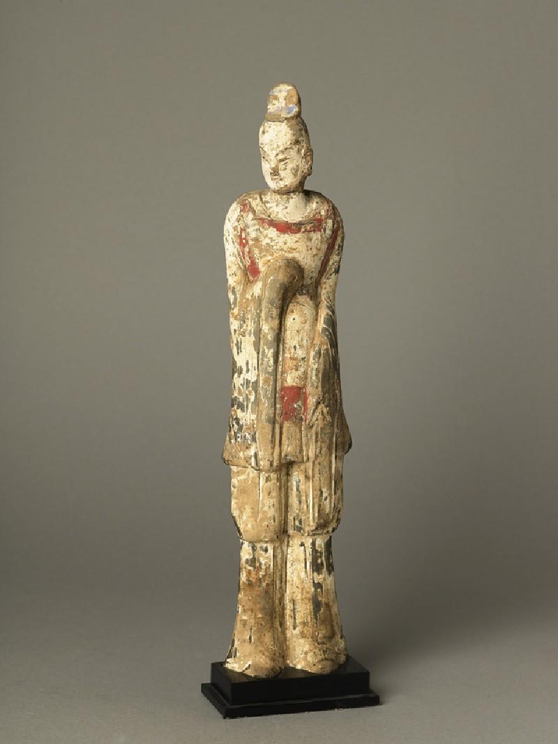 Standing guardian figure (EA1991.64, oblique           )