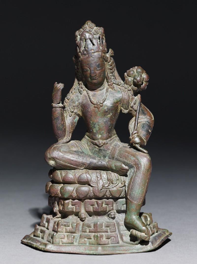Seated figure of Padmapani (EA1993.372, front            )