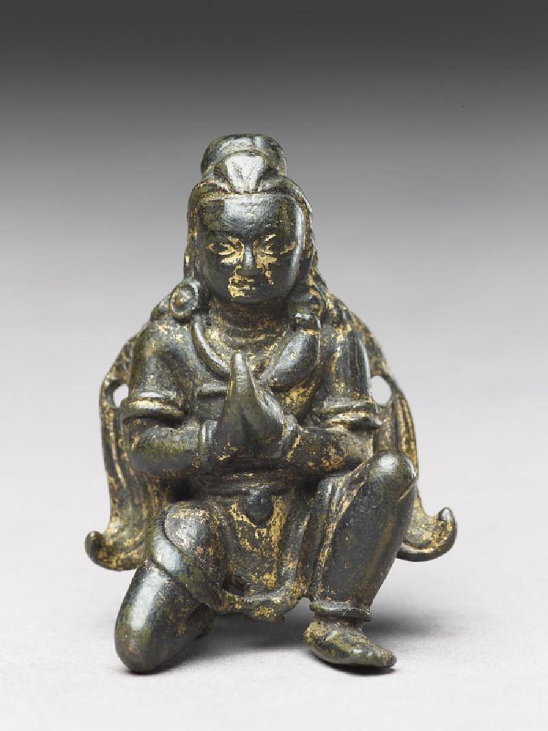 Figure of Garuda, the man-bird vehicle of Vishnu (EA1996.2, front          )