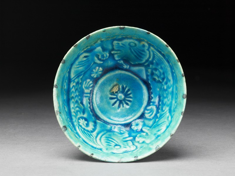 Bowl with animal decoration (EA1997.171, top            )
