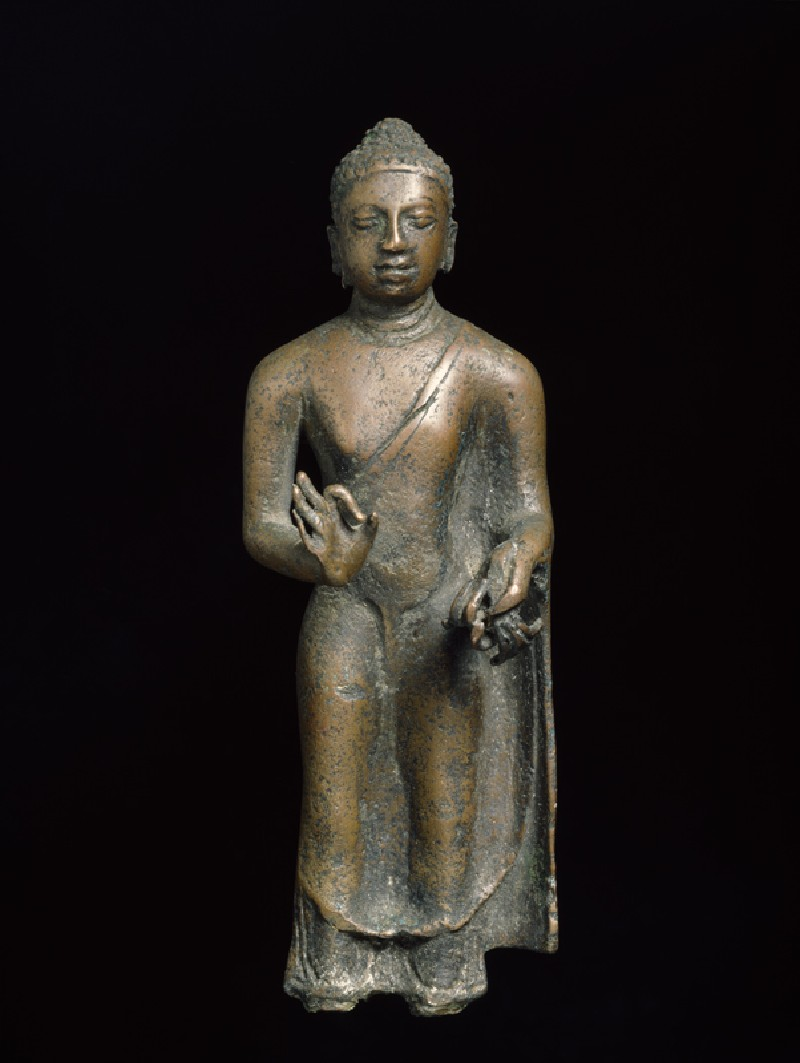 Standing figure of the Buddha (EA1997.229, front            )