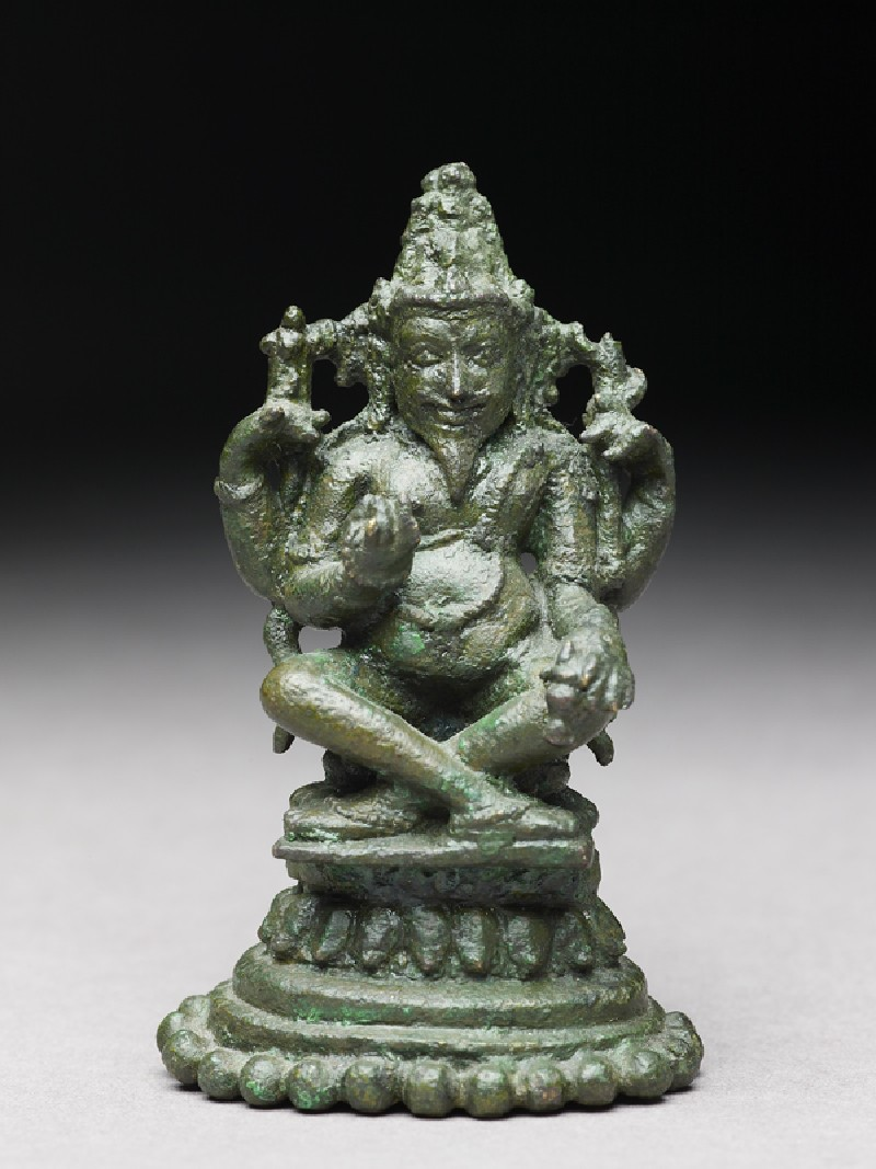 Figure of Agni, god of fire