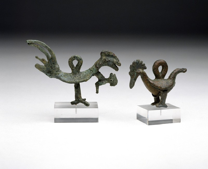 Amulet in the form of a bird (EA1999.38)
