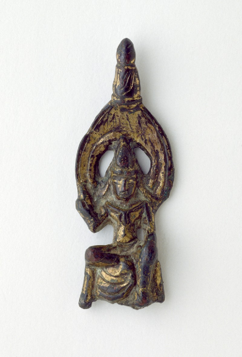Seated figure of a bodhisattva (EA2002.4, front          )