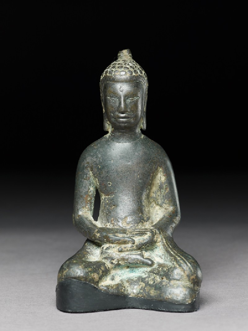 Seated figure of the Buddha (EA2002.42, front           )