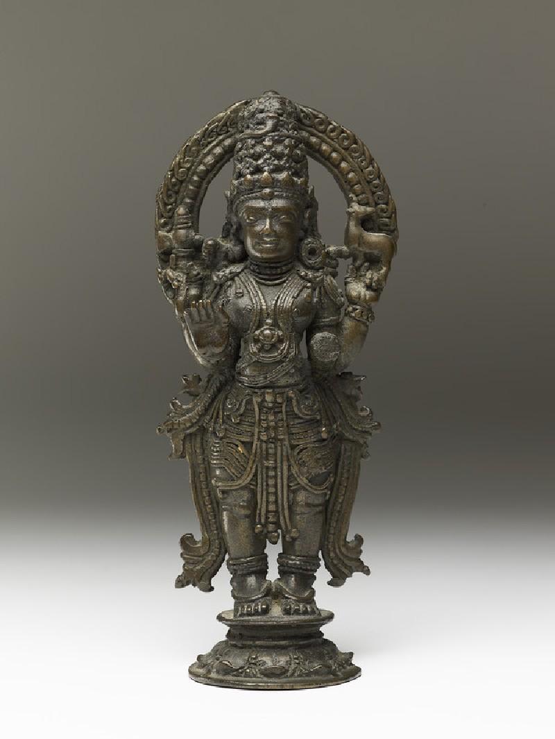 Standing figure of Shiva (EA2013.103, front            )
