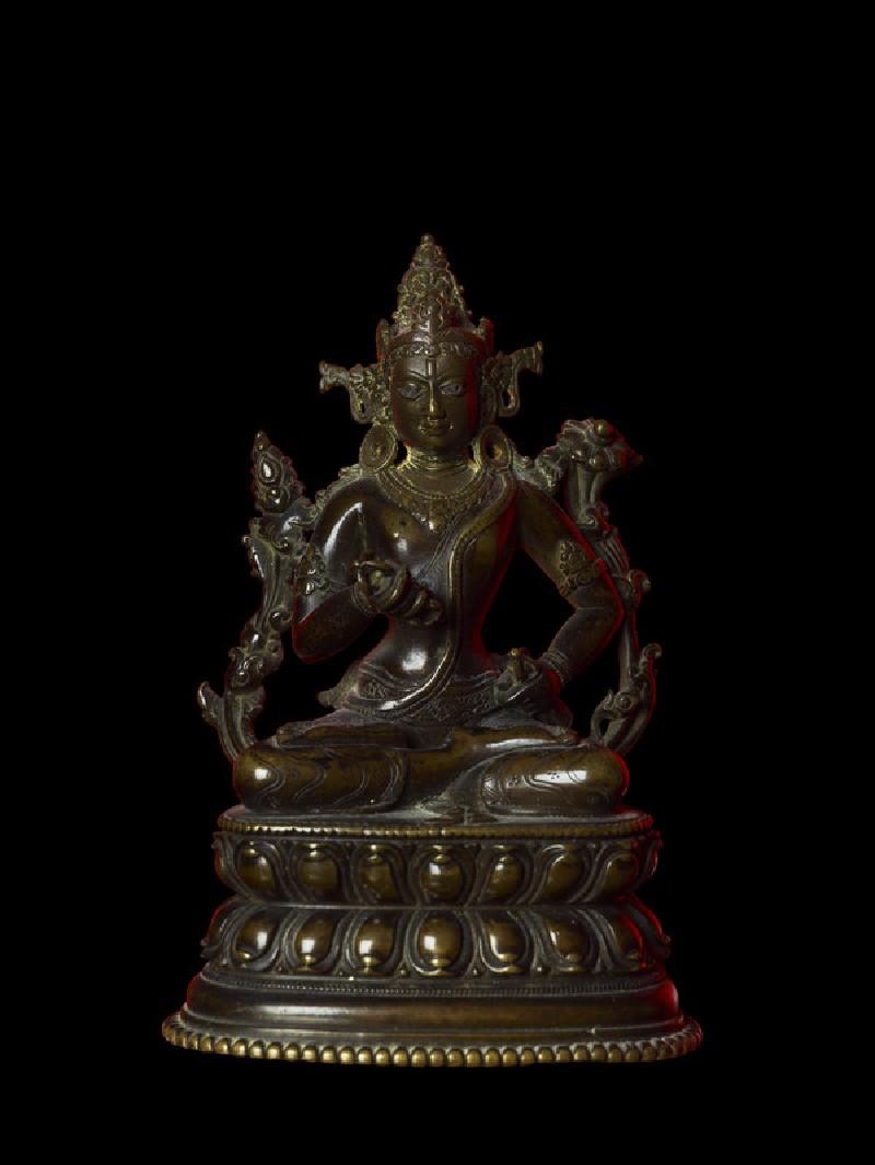 Seated figure of Vajrasattva (EA2013.132, front            )