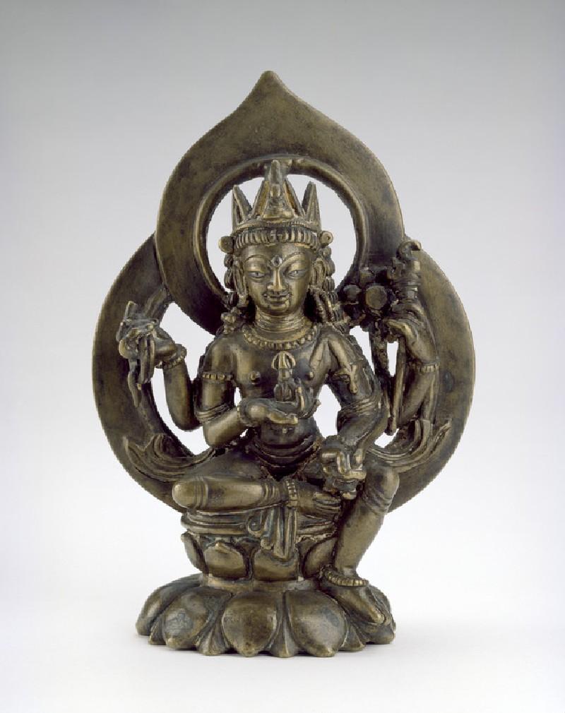Seated figure of Avalokitesvara