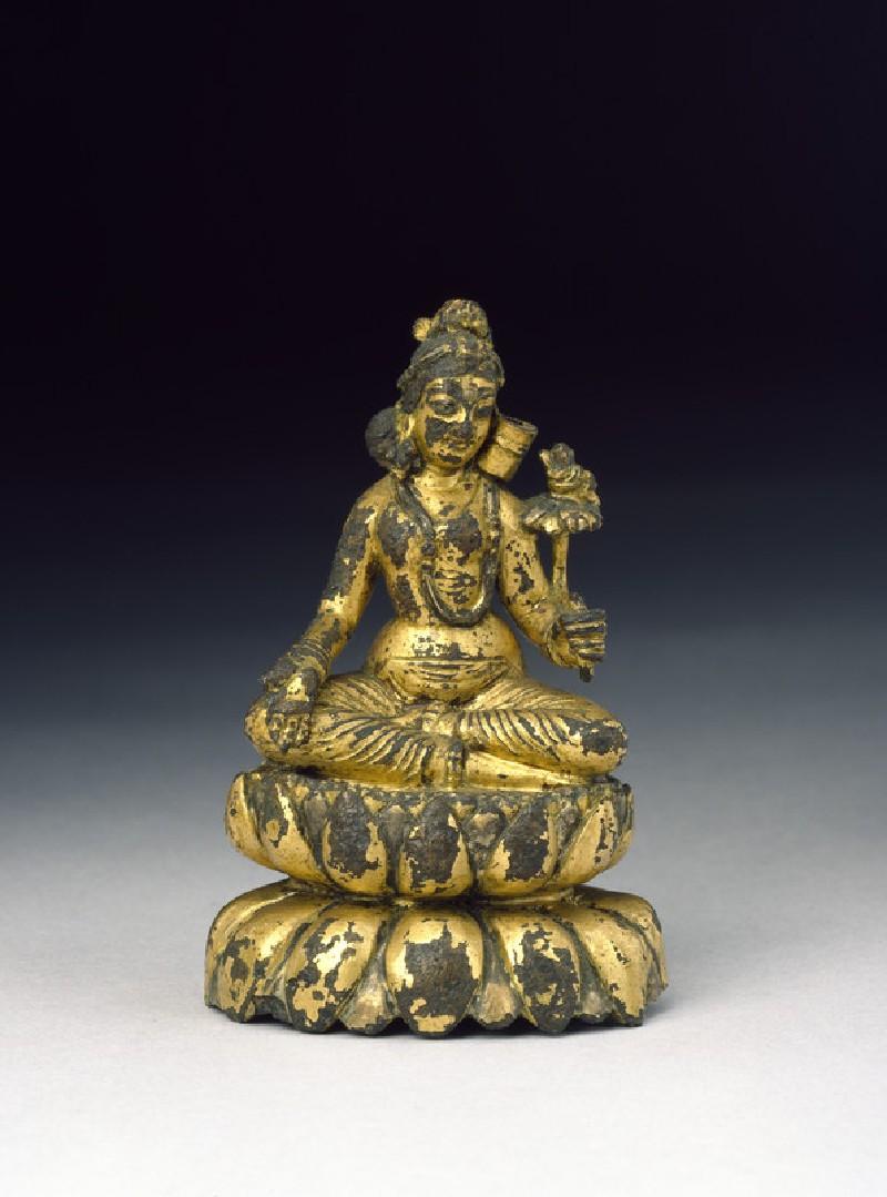 Seated figure of Tara (EA2013.66, front           )