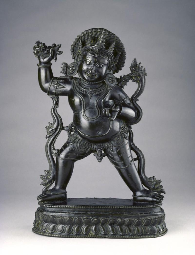 Standing figure of Bhairava (EA2013.72, front           )
