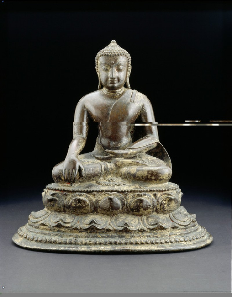 Seated figure of the Buddha (EA2013.78, front           )