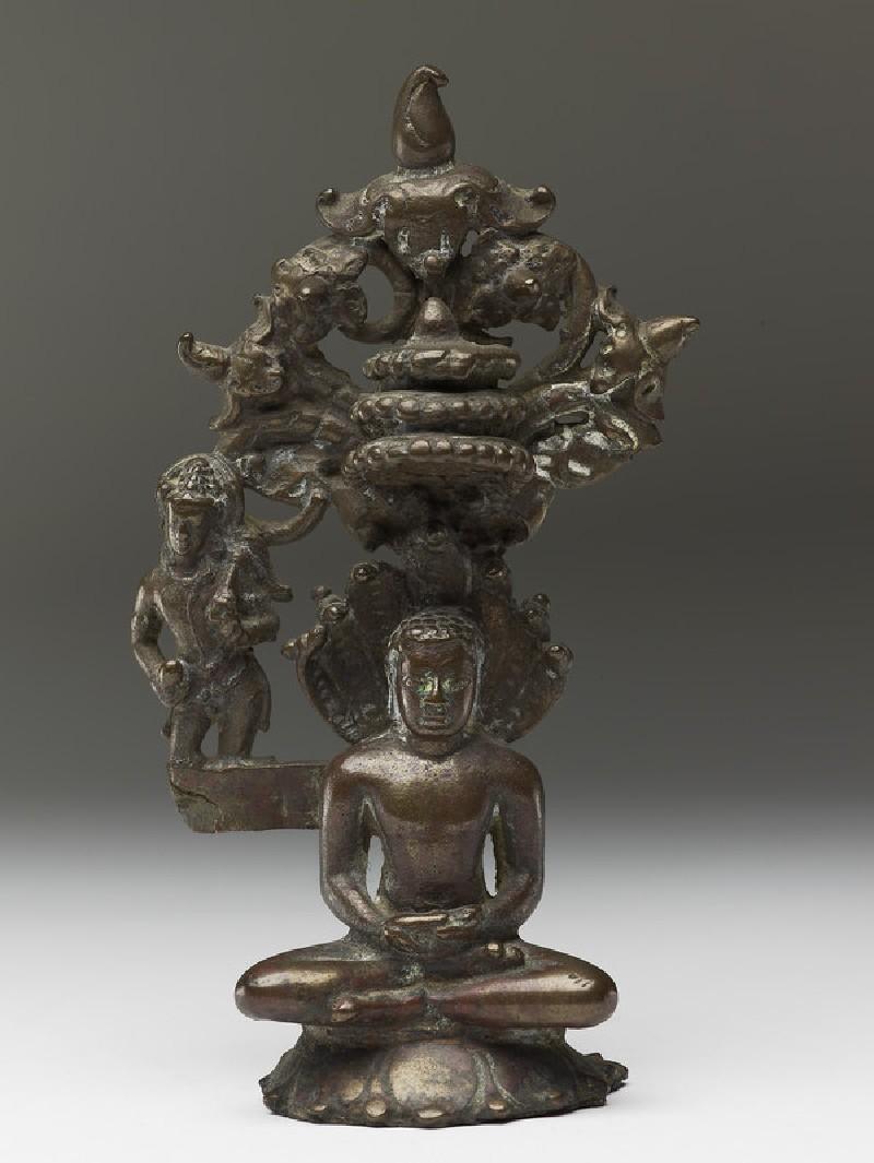 Figure of the Tirthankara Parshvanatha (EA2013.83, front           )