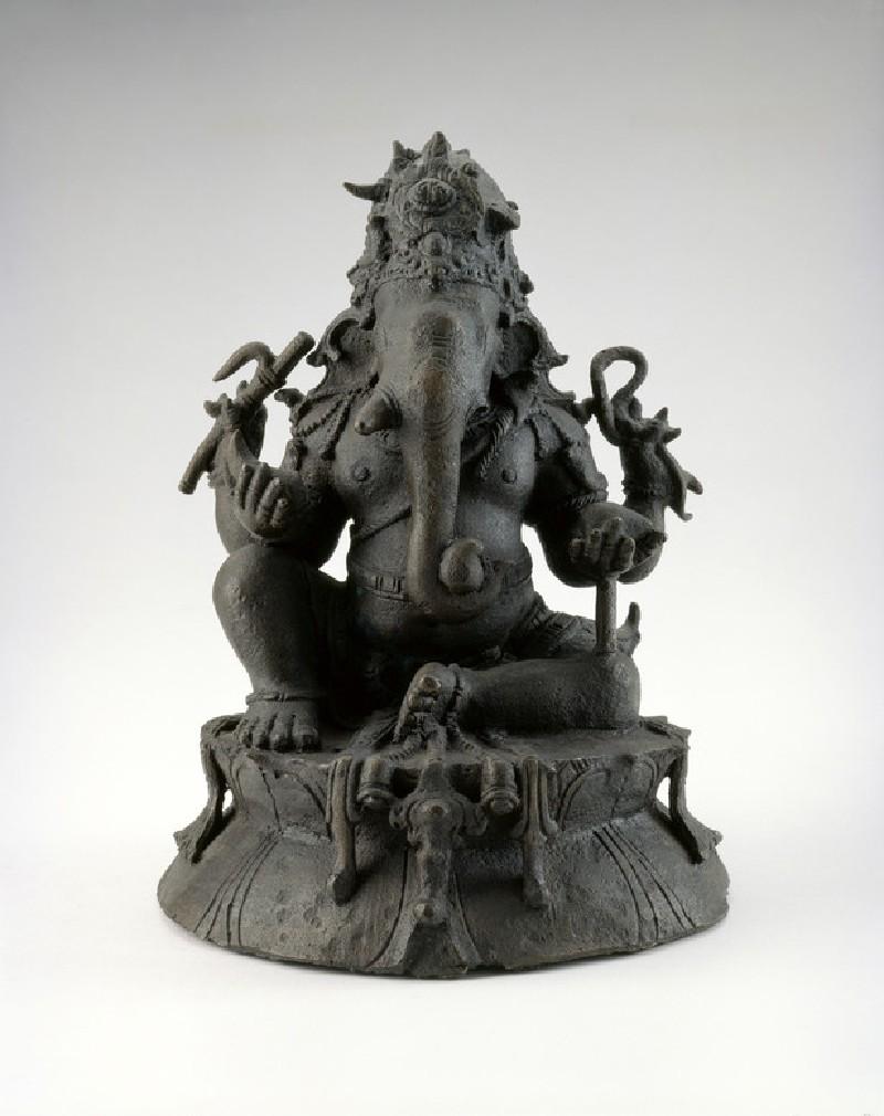 Figure of Ganesha (EA2013.85, front           )