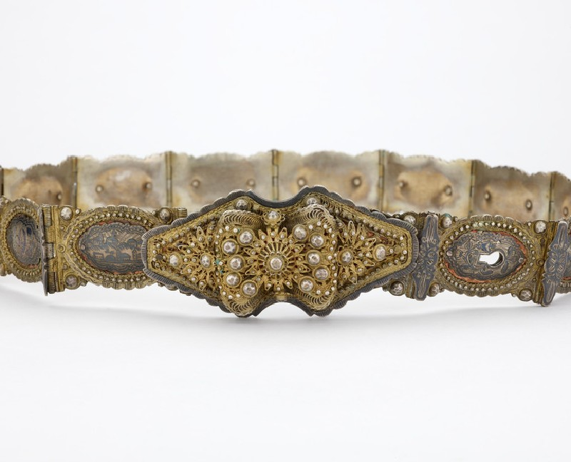 Lady's belt made by an Armenian master jeweller (EA2016.22)