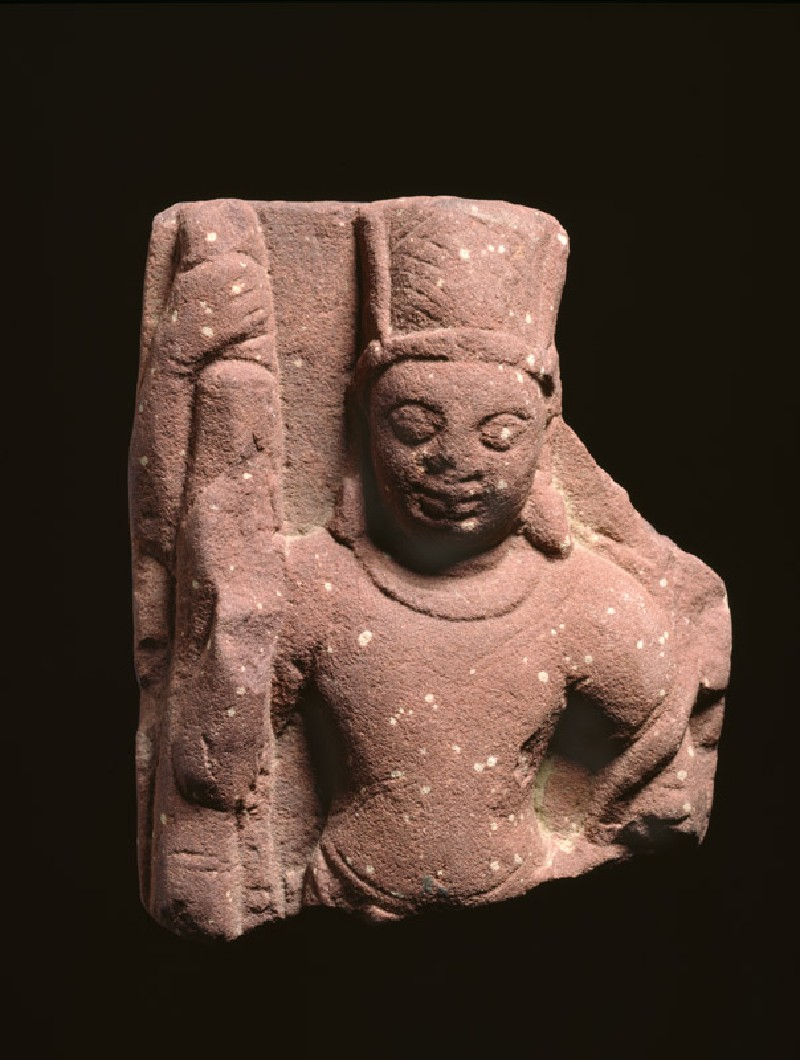 Relief fragment with Vishnu (EAOS.38.a, front           )