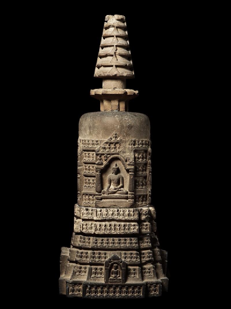 Votive stupa
