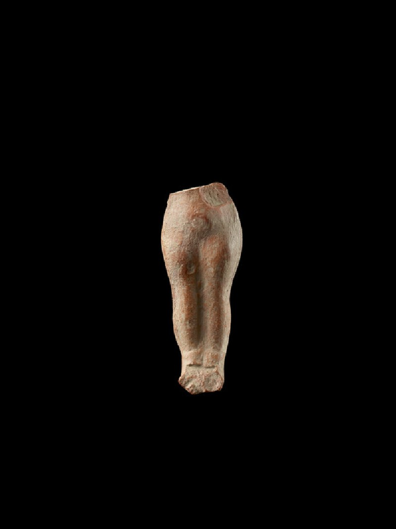 Fragmentary figure with legs, probably female