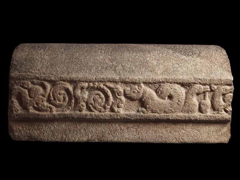 Stone coping piece