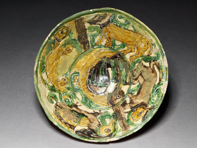 Bowl with animals (EAX.3008, top          )