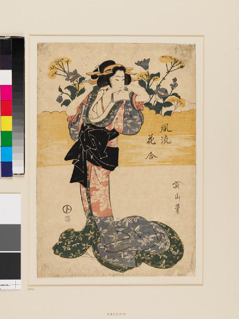 Elegant Flower Viewing (EAX.4751, front          )