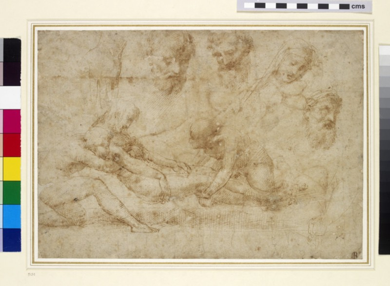 Studies for a Deposition (WA1846.172)